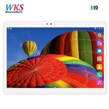 Newest 10.1 inch tablet pc Android 7.0 RAM 4GB ROM 32GB 64GB Dual SIM Bluetooth GPS 1280*800 IPS tablets pcs free shipping