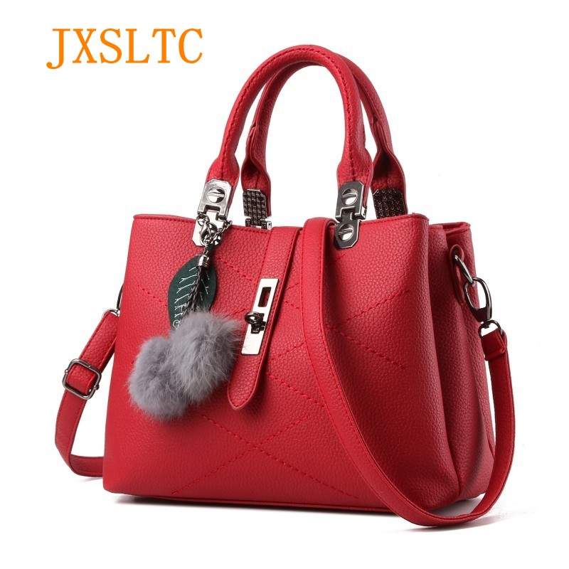 New Fashion Women bag Handbag Totes Bag Portable Female red black Crossbody Bags Women's Leather Handbags Messenger Shoulder Bag