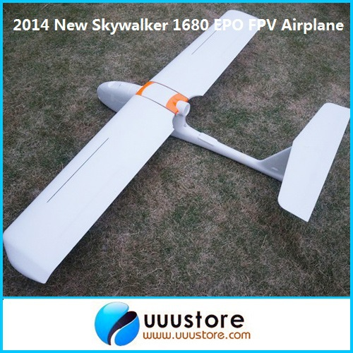 FPV New 2014 Version Skywalker 1680 EPO Wingspan 1800mm FPV Platform RC Airplane KIT fpv x uav talon uav 1720mm fpv plane gray white version flying glider epo modle rc model airplane