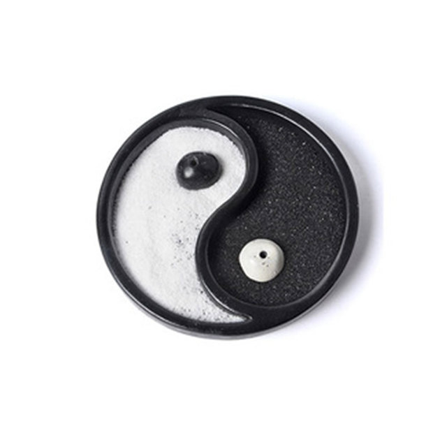 Chinese Style Wooden Craft Zen Garden Decoration Yin and Yang gossip  Sand Table Home Decoration Crafts