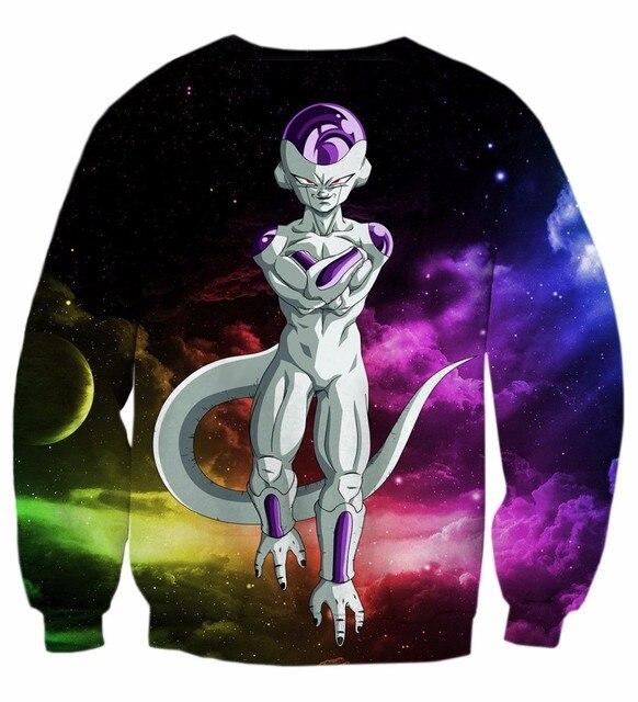 Dragon Ball Z Frieza Long Sleeve Pullovers Sweatshirts