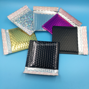 Image 5 - 50pcs/lot Bubble Envelopes Bags Mailers Padded Shipping Envelope With Bubble Mailing Bag Business Supplies 15*13cm+4cm