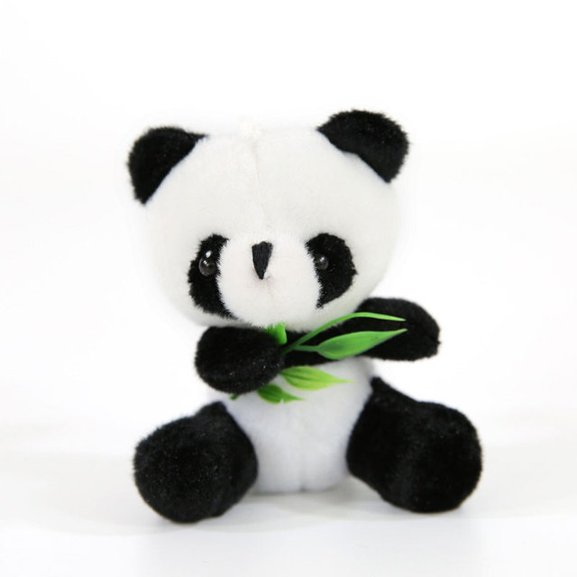 Plush Toy 9cm Panda Stuffed Animal Baby Interactive Toys Collection