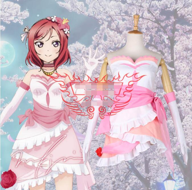 Hot Anime lovelive! cosplay Future style Maki Nishikino cos Masquerade Halloween party cosplay costume Sweet fight song clothes image