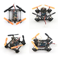 JJPRO-T2 Naze32+DSM2 Controller Micro FPV Drones Quadcopter 800Tvl Camera Black