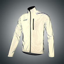 Darevie Reflective Cycling Jacket sleeveless cycling Vest removable sleeves jacket softshell Biking men