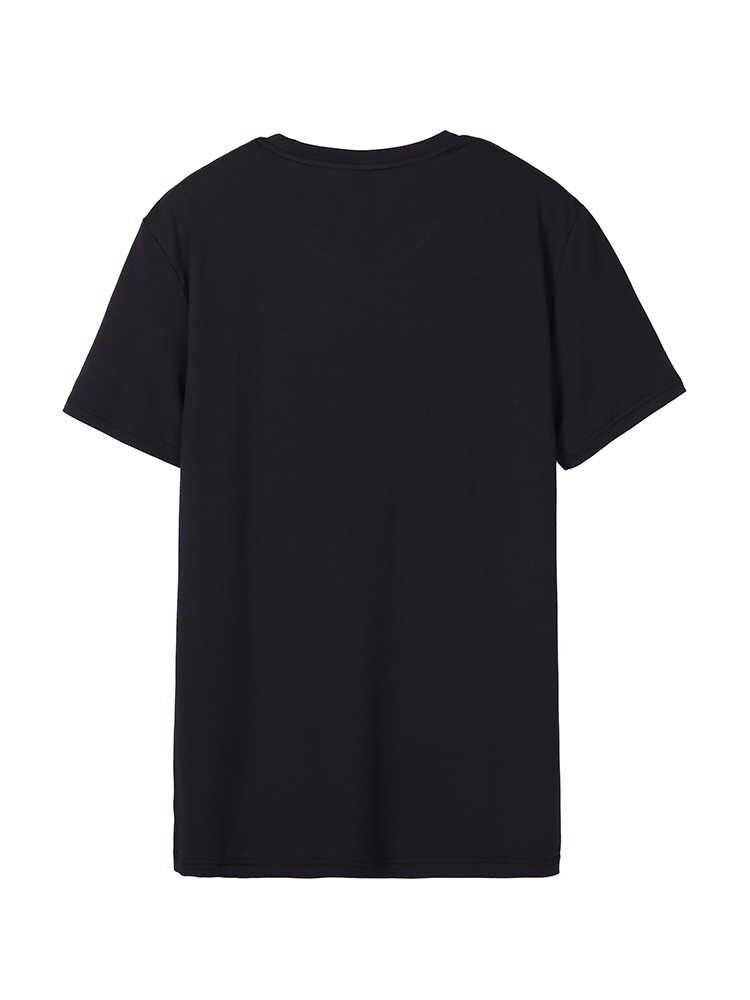 パイオニアキャンプ夏の手紙プリント Camiseta 男性 O ネック tシャツフィットネス服ソフト通気性因果男性 Tシャツ ADT901231