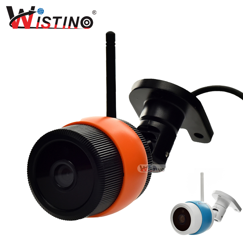Wistino CCTV 1080P/960P WiFi Bullet IP Camera Outdoor Street Waterproof Wireless Surverillance Support Onvif Yoosee Black wistino white color metal camera housing outdoor use waterproof bullet casing for cctv camera ip camera hot sale cover case
