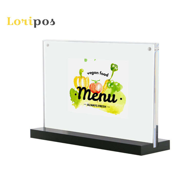 Office & School Supplies Desk Accessories & Organizer 10pcs 21*29.7cm A4 Acrylic Magnetic Label Holder Stand Poster Banner Menu List Frame Advertising Desk Sign Holder Display Stand