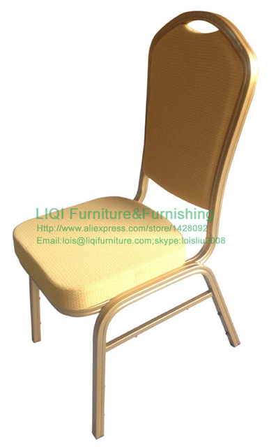 wholesale quality strong Stacking aluminum chairs LQ-L1030G
