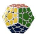 2016 El Más Nuevo Shengshou Aurora 3x3 Megaminx Cubo de la Velocidad Puzzle Cube Rompecabezas Niños de Juguete en Blanco Y Negro