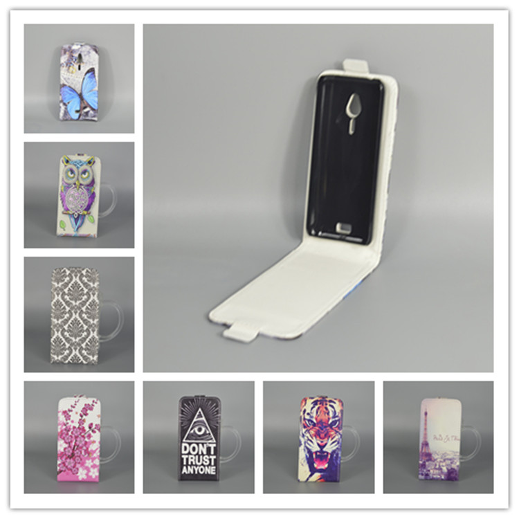 for Nokia 230 / 230 Dual SIM Hot Pattern Cute PrintingVertical Flip Cover Open Down/up Back Cover filp leather case image
