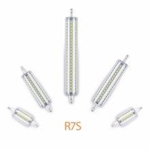 Led Lamp R7S 118mm 220V 78mm Tube Bulb 135mm 110V 189mm Led Light for Home 5W 10W 12W 15W Replace Halogen Lampada Energy Saving led 5020 15w r7s 72led 5050 smd lamp energy saving