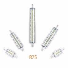 Led Lamp R7S 118mm 220V 78mm Tube Bulb 135mm 110V 189mm Led Light for Home 5W 10W 12W 15W Replace Halogen Lampada Energy Saving стоимость