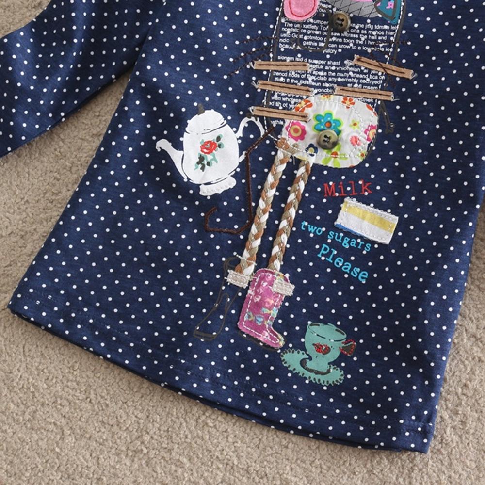 HTB1Z0JdQVXXXXadXXXXq6xXFXXXP - Girls Long Sleeve All Year T-Shirt, Long Sleeve, Cotton, Various Designs and Prints