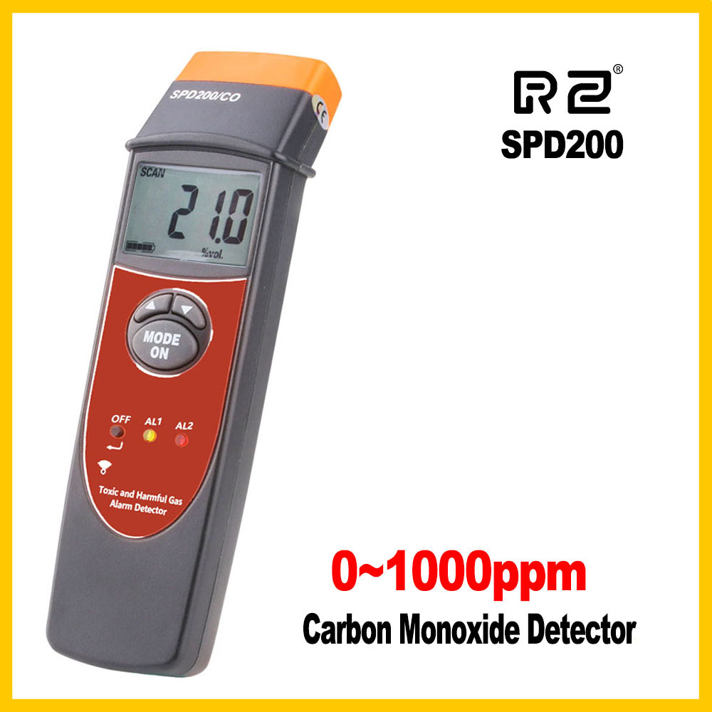 Carbon Monoxide(CO) Detector Factory/gas alarms Product Digital CO Detector Gas Industrial usage SPD200 digital gas analyzers lcd co gas detector carbon monoxide measurement alarm detector 0 2000ppm