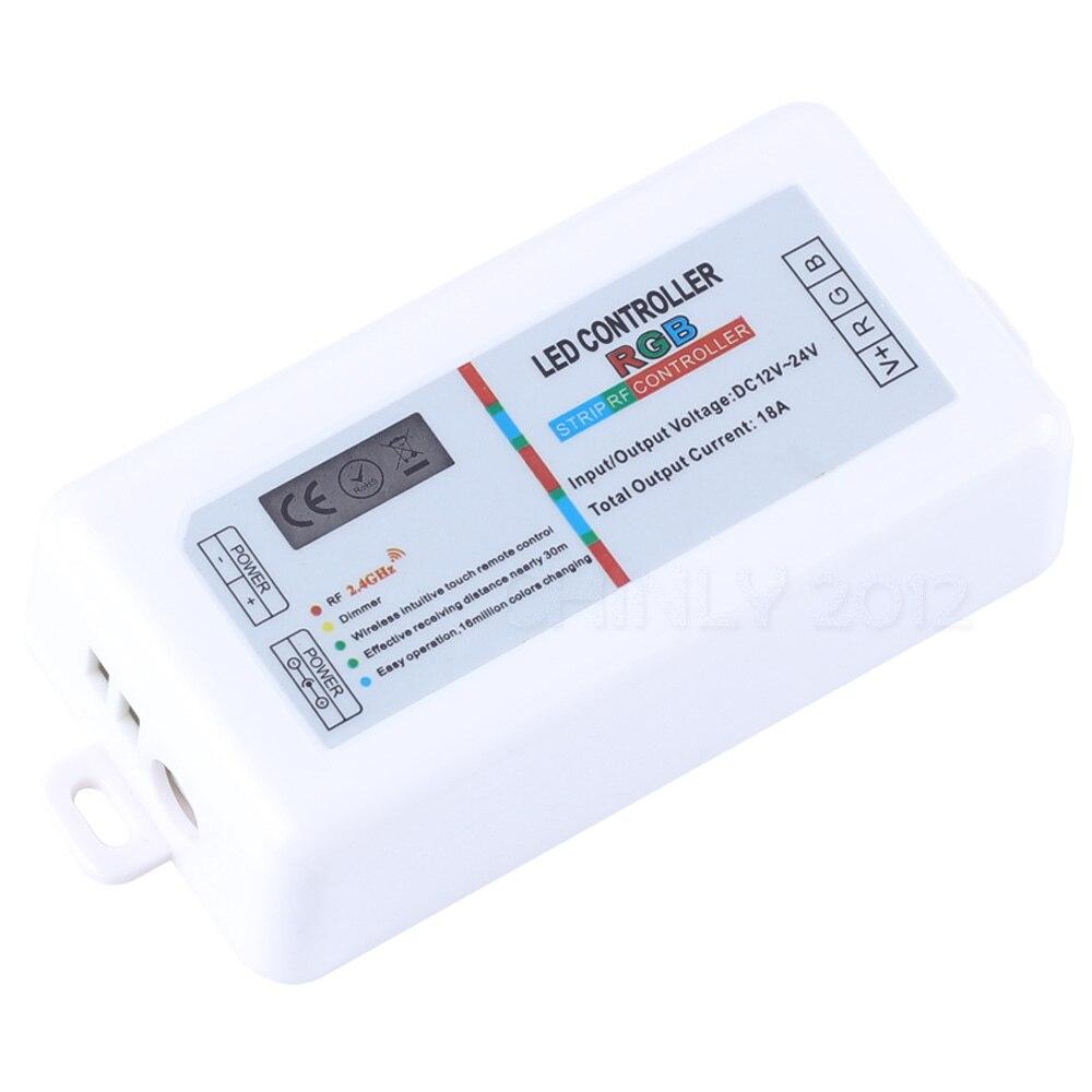 RGB Controllers 2.4G անլար Սև գույնի անջատիչ - Լուսավորության պարագաներ - Լուսանկար 5