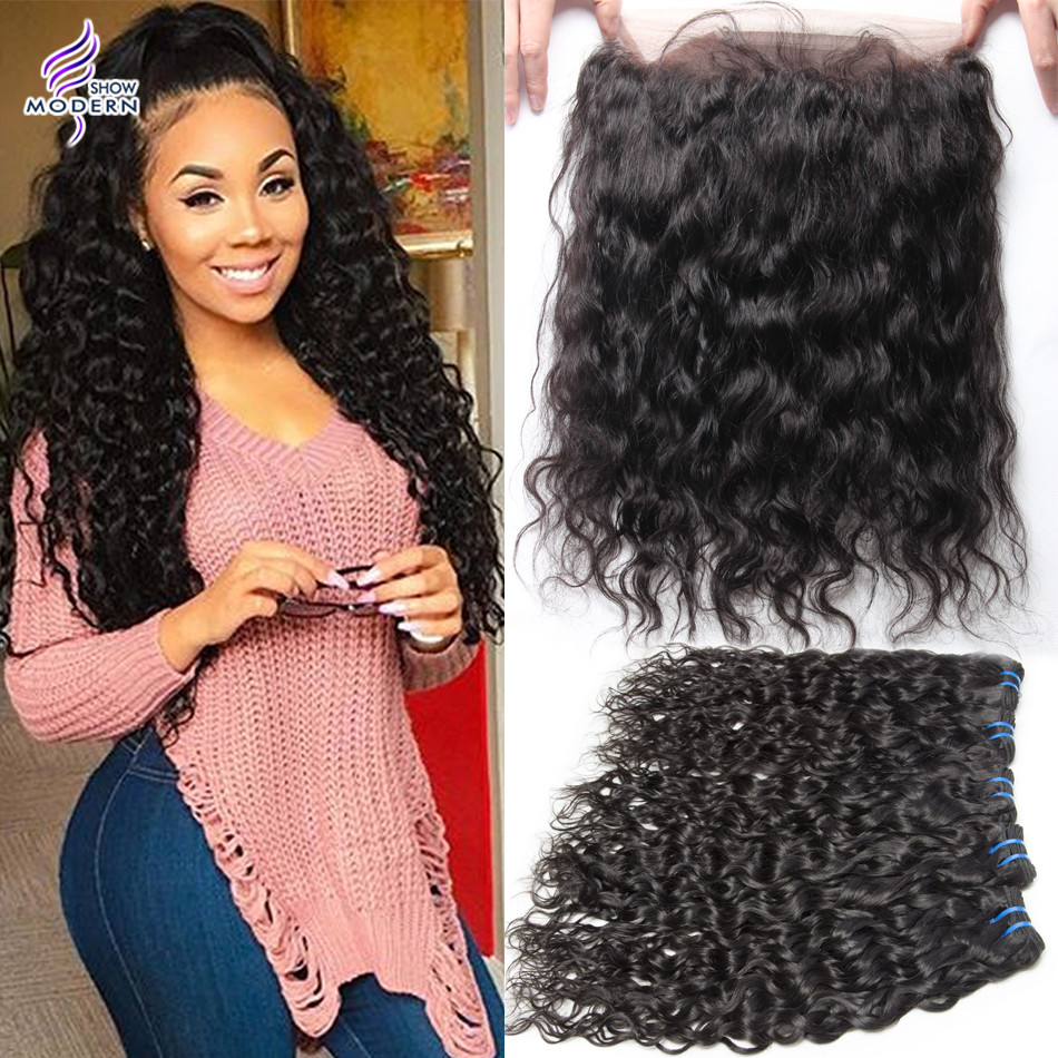 Aliexpress Com Buy Malaysian Virgin Hair Water Wave 360