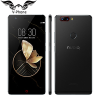 Original Nubia Z17 4G Mobile Phone 5 5 Inch Snapdragon 835 Octa Core 6 8GB RAM