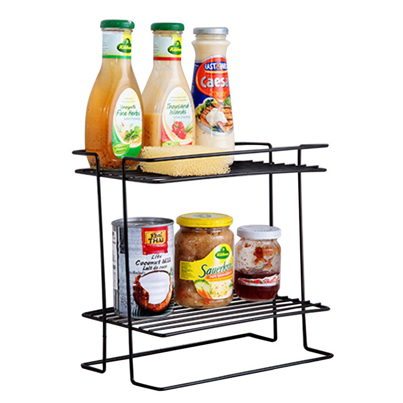 Hot Sale Hoomall Stainless Steel Storage Racks Kitchen Double-layer ...