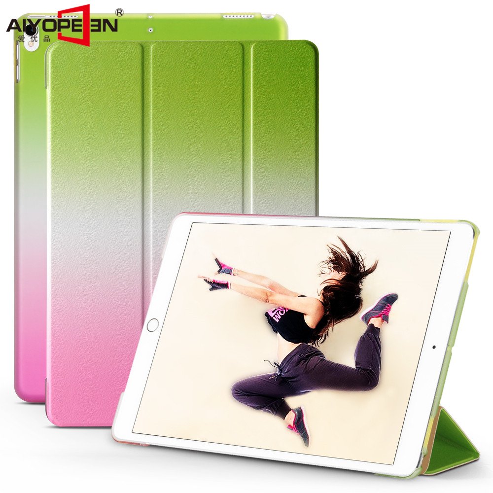 case for ipad pro 10.5 inch,aiyopeen gradient ultra slim pu leather with hard pc back cover smart wake up sleep+small gift pu leather ebook case for kindle paperwhite paper white 1 2 3 2015 ultra slim hard shell flip cover crazy horse lines wake sleep