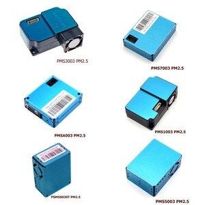 1 pçs pms5003 pms7003 pms5003st psm1003 pms3003 pmsa003 módulo de sensor pm2.5 partículas de ar poeira digital sensor a laser eletrônico diy