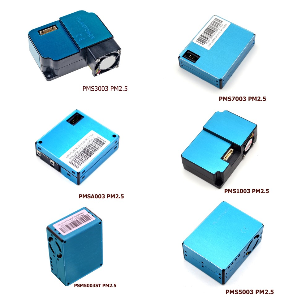 1PCS PMS5003 PMS7003 PMS5003ST PSM1003 PMS3003 PMSA003 Sensor Module PM2.5 Air Particle Dust Digital Laser Sensor Electronic DIY