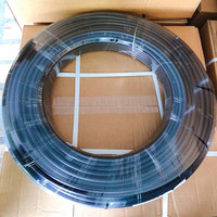 S243 Black PE material 80bar hose 4mm ID 9.52mm high pressure atomized mist tubing 3/8 pipe 100M/Roll