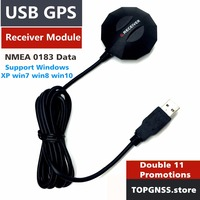 NEW UB 702 GPS Receiver USB Module Antenna Ublox7020 CHIP Magnetic Waterproof Replace Globalsat BU 353S4