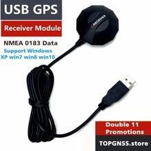 USB GPS receiver module antenna,ublox7020 CHIP ,magnetic waterproof  replace BU353S4 Smart Antenna