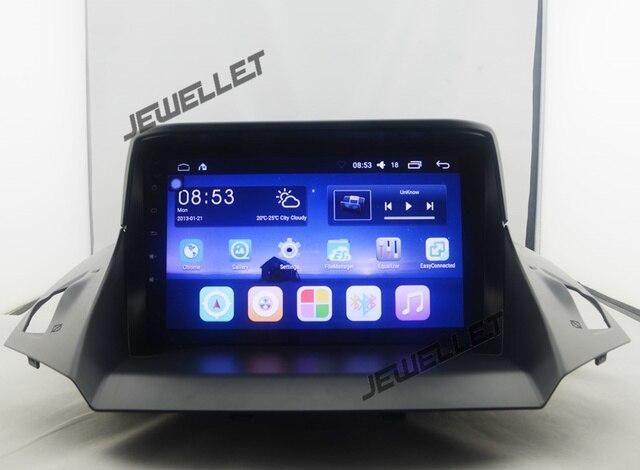 "9 ""Quad core 1024*600 HD экран Android 7,1 2 + 32 г автомобиля gps радио навигации для ford kuga Побег C-max"