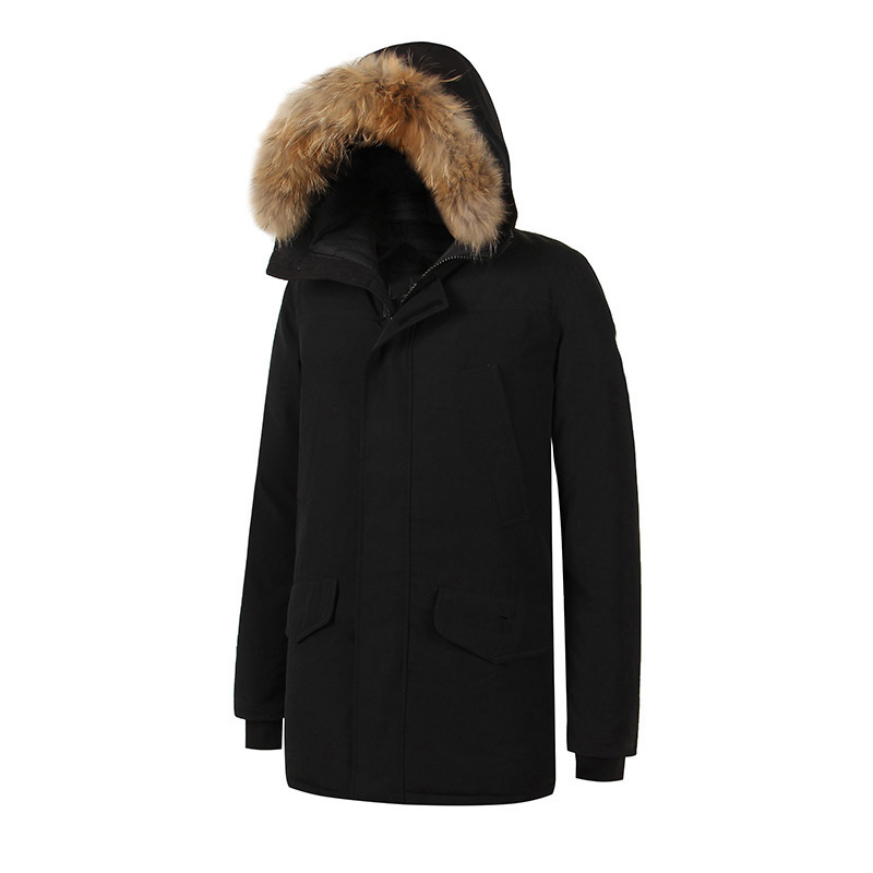 2018 Brand New XS-4XL Mens Thick Winter Warm Duck Down Thick Langford parka slim Jacket Fashion Coat