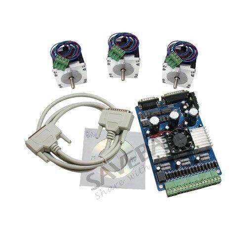 Buy cnc kit 3 axistb6560 nema 23 stepper for 3 axis nema 23 stepper motor driver controller cnc kit