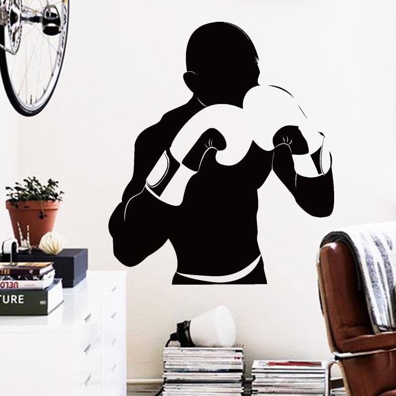 Art Dizayn ev bəzək ucuz Vinil boks oyunçusu Divar Etiket - Ev dekoru - Fotoqrafiya 1