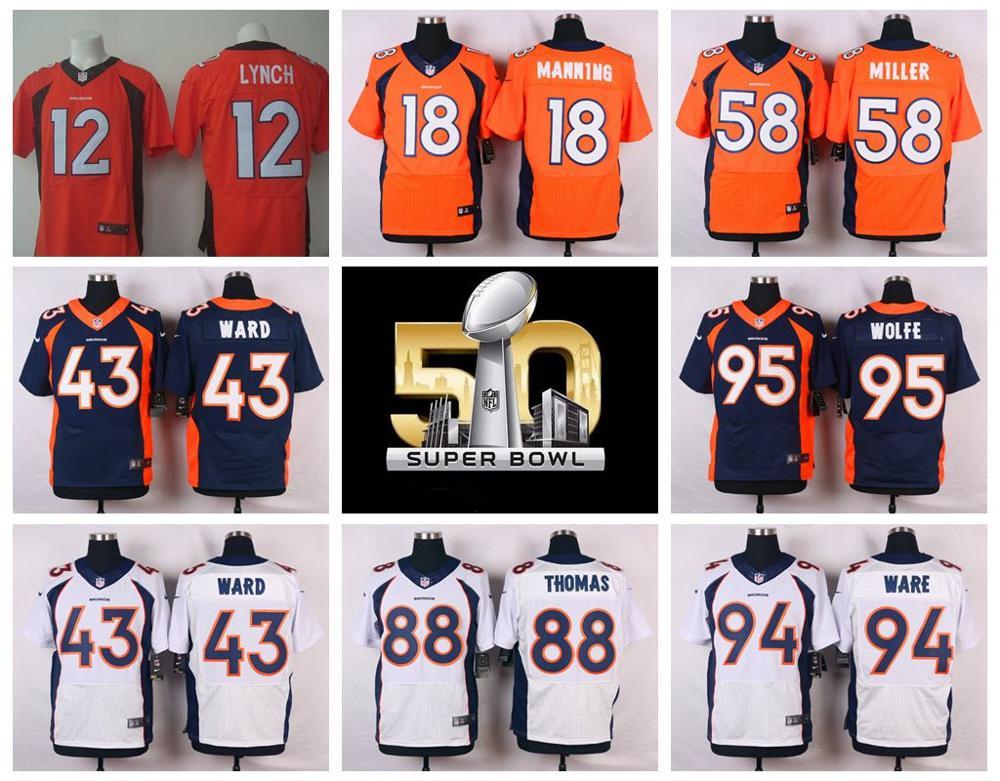 Popular Denver Jersey-Buy Cheap Denver Jersey lots from China ...