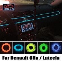 9 М EL Провода Для Renault Clio 2 3 4/Lutecia/Евро Clio/Clio Campus/Романтическая Атмосфера Лампы/Украшения Холодный Свет Линии