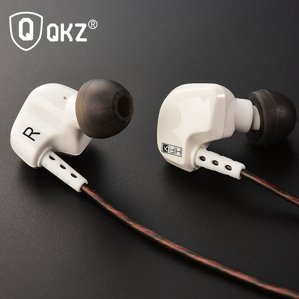 earphone original brand qkz dm200 super bass in ear auriculares with mic hifi gold. Black Bedroom Furniture Sets. Home Design Ideas