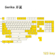 Serika PBT cherry profile Keycap dye sub Keycap novelties Keycap compatible with 64 68 84 96