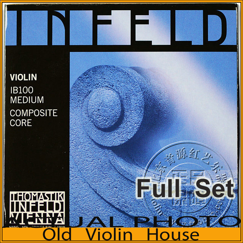 Original Thomastik Infeld-Blue (IB100) Violin Strings , full set,made in Austria ,Free shipping original thomastik vision solo vis100 4 4 violin strings full set med alum d made in austria free shipping