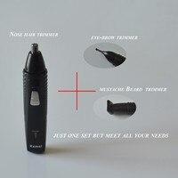 5Pcs Fast shaving Men Electric Nose Ear Hair Trimmer Painless Women trimming sideburns eyebrows Beard hair clipper cut Shaver