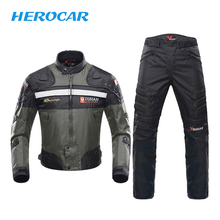 DUHAN Motorcycle Jacket Motorbike Riding Windproof Full Body Protective Chaqueta Moto