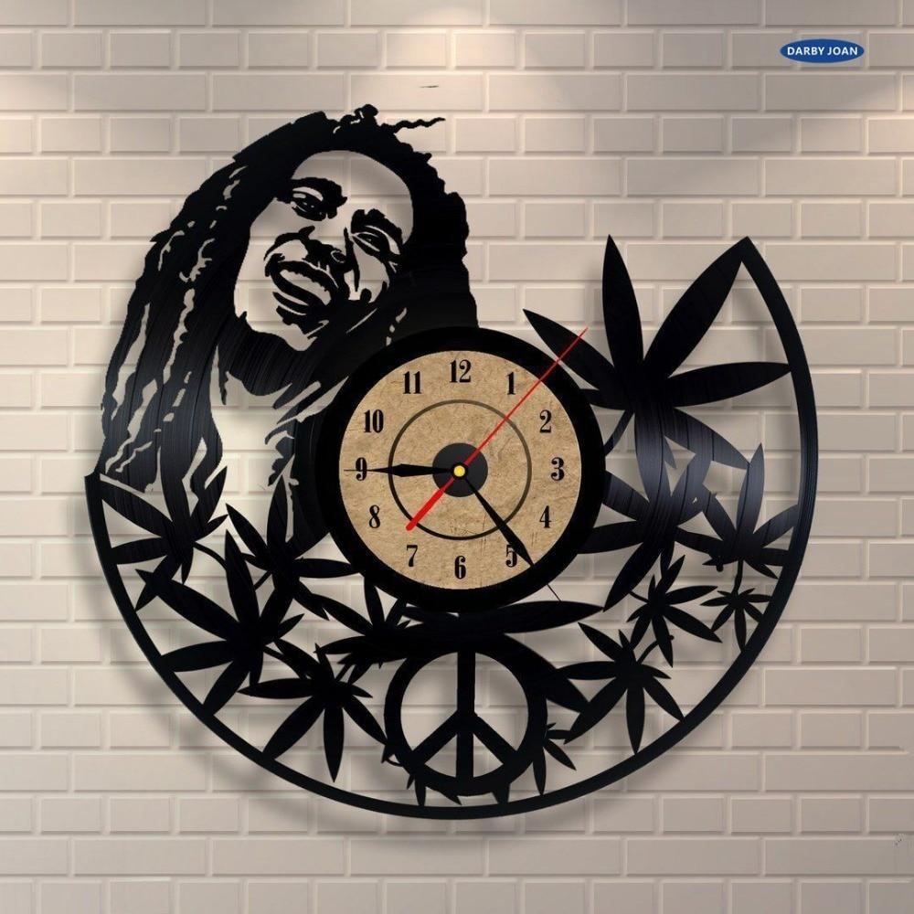 12 Inches Bob Marley Quartz Wall Clock Antique Style Large