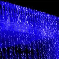 Led String Curtain Light 6*3m 600 Led Waterfall Xmas Christmas Outdoor Decoration Dripping Icicle Lights Fairy cortina de led