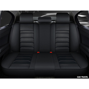 Image 5 - Front Rear Luxury Leather car seat cover For hyundai santa fe toyota fortuner lexus is 250 grand starex ford smax car seats