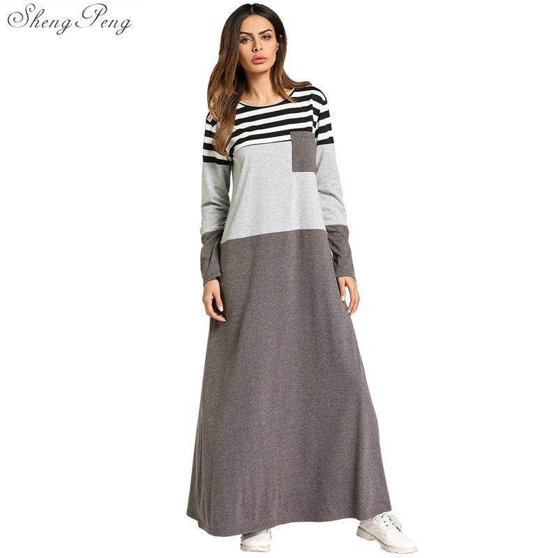 Muslim dress islamic clothing abaya muslim clothing turkish islamic clothing clothes turkey muslim women dress Q522 Одежда
