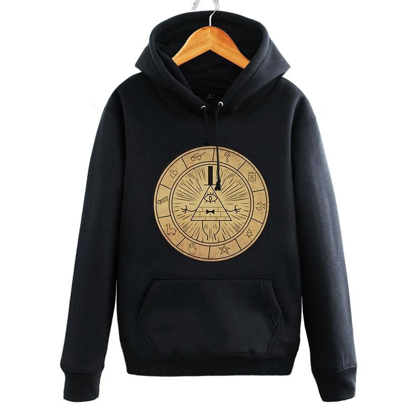 Anime cartoon New Gravity Falls Hoodie spring and autumn hoodied Coat Men Women cotton Long Sleeve Sweatshirt