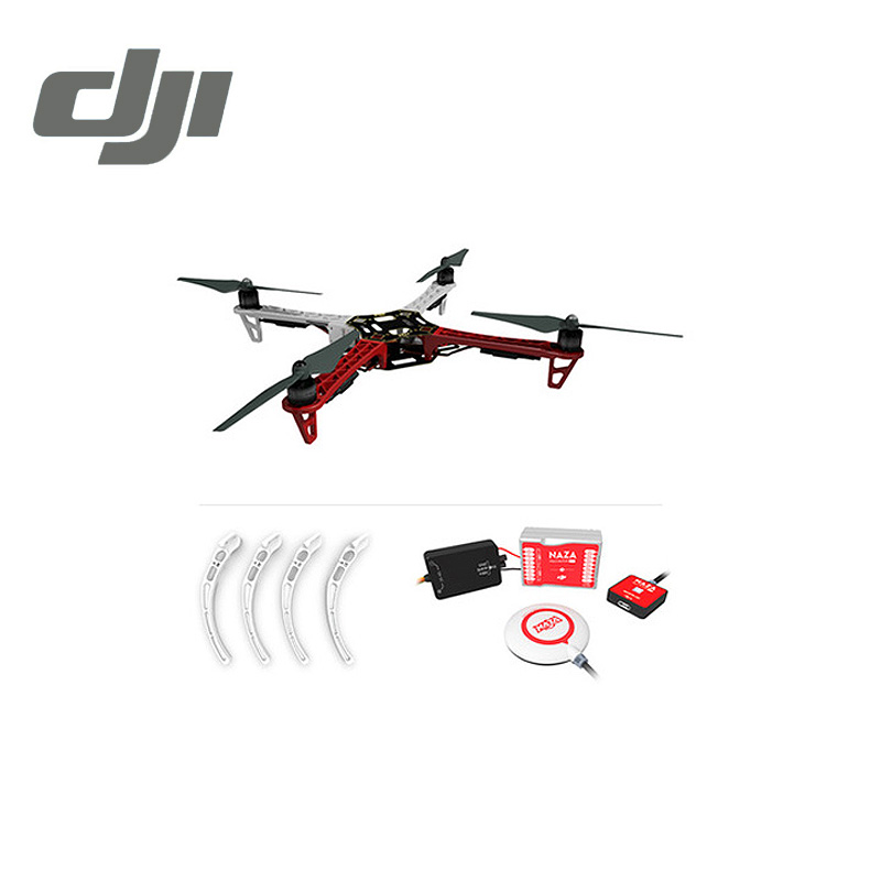 DJI F450 ARF KIT Quadcopter Rack Flame Wheel + Landing Gear + Naza M Lite ( with GPS ) Flight Controller Original jiyi multi rotor p2 pro flight controller gps led mup diy drone better than dji naza v2 w black box function quadcopter