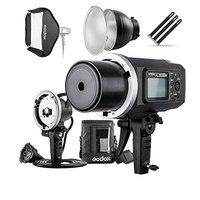 Godox AD600BM 600Ws GN87 HSS вспышка Strobe Monolight с 8700 мАч Батарея, 600 Вт Портативный Лампа головка вспышки, 23 X 23 флэш софтбокс,