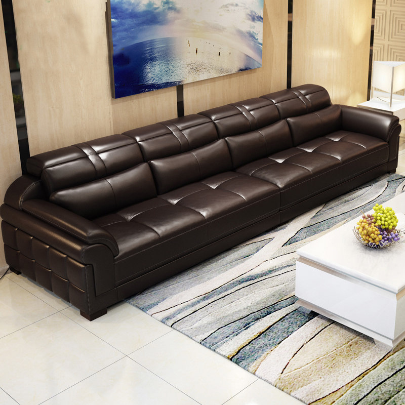 Pu Sofa Factory Direct Living Room Size
