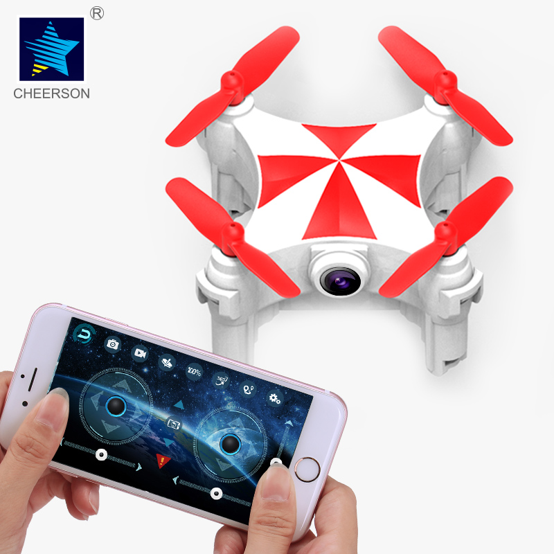 Cheerson CX-OF Wi-Fi 720MP HD оптического потока режим танца мини slefie RC Quadcopter дроны вертолет childrenstoys отправить защиты